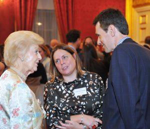 Jo Honigmann, HRH Princess Alexandra, Councillor Robert Rigby