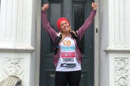 CPotential Runner London Marathon
