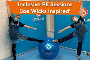 Joe Wicks inspired inclusive PE for disabled children