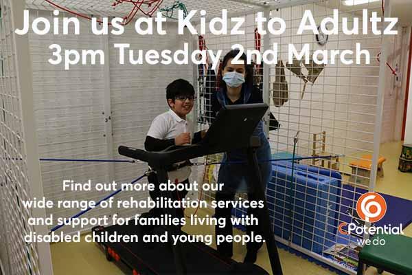 Kidz to Adultz Disabled Living