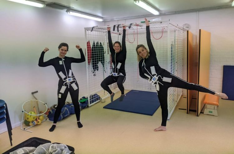 Physiotherapy team in Mollii Suits