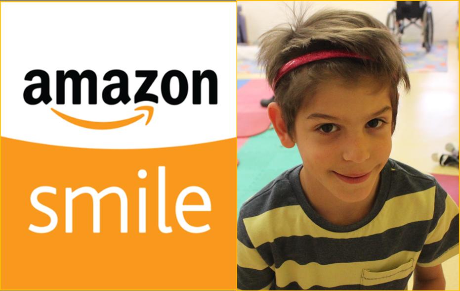 Child smiling - amazon smile