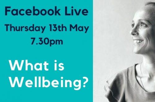 Facebook Live Wellbeing