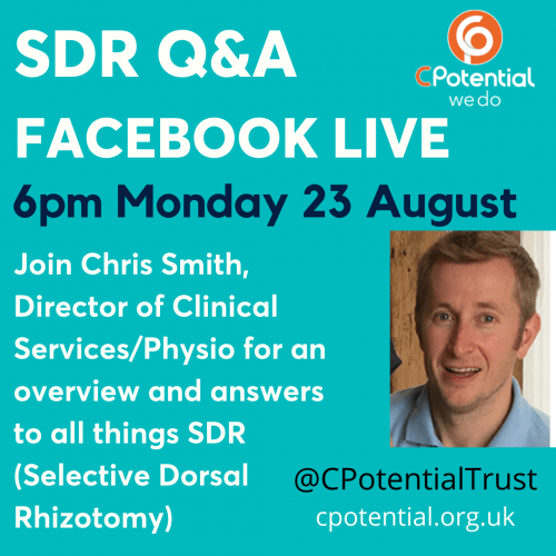 SDR Facebook Live 23 August 6pm