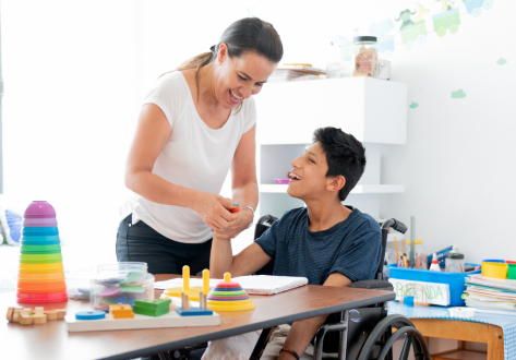autumn therapy camp at cpotential for children with cerebral palsy and movement disorders