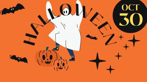 Halloween event charity shop October 30