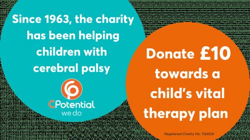 Donate for cerebral palsy #Donate4CP