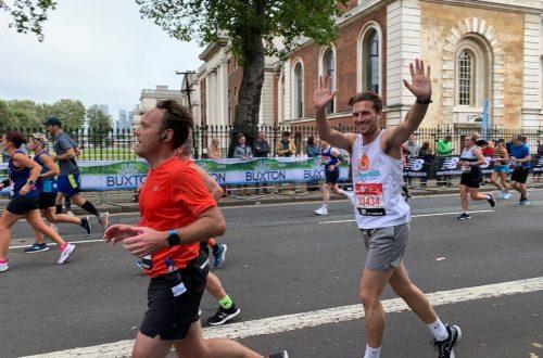 CPotential runner Jack in London Marathon