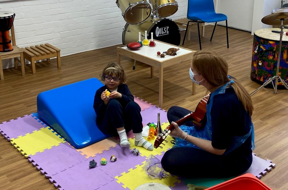 Music therapy funded programme for children with cerebral palsy